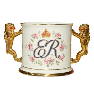 Queen Elizabeth Loving Cup 100th Birt - Paragon Commemorative