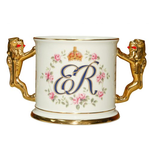 Queen Elizabeth Loving Cup 100th Birt - Paragon Commemorative