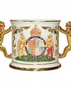 Queen Elizabeth Loving Cup Paragon - Paragon Commemorative