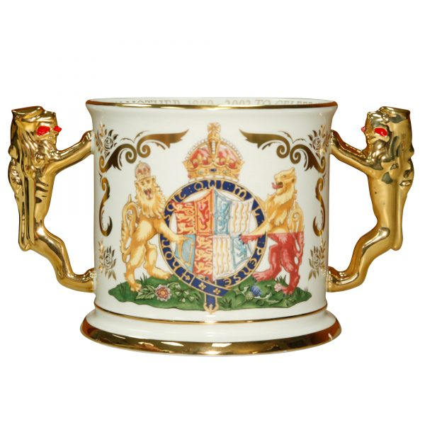 Queen Elizabeth Loving Cup Paragon - Paragon Commemorative