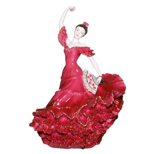 Flamenco Dancer Red - Coalport Figurine