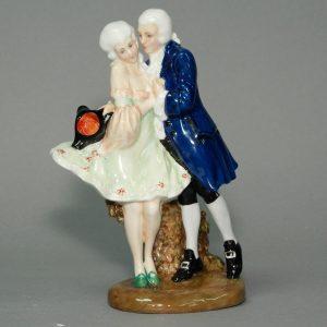 Perfect Pair Prototype CV - Royal Doulton Figurine
