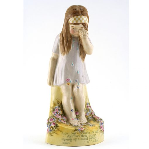 Upon Her Cheeks She Wept - Royal Doulton Figurine