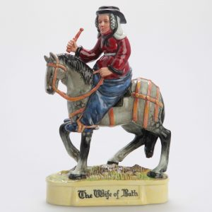 Wife of Bath Prototype - Royal Doulton Figurine