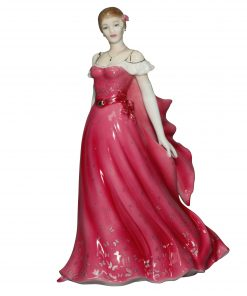 Summer Ball CW681 - Royal Worcester Figurine