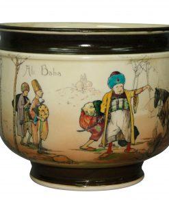 Ali Baba Jardiniere - Royal Doulton Seriesware