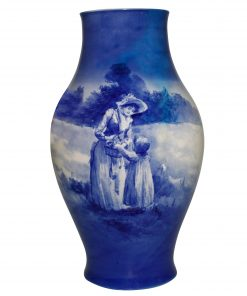 Blue Children Vase GBW 18H - Royal Doulton Seriesware