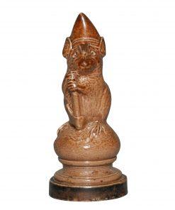 Chess Piece - George Tinworth Figurine