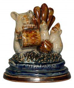 Conjurers Mouse Group Menu Hol - George Tinworth Figurine