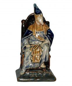 Pharaoh Menu Holder - George Tinworth Figurine