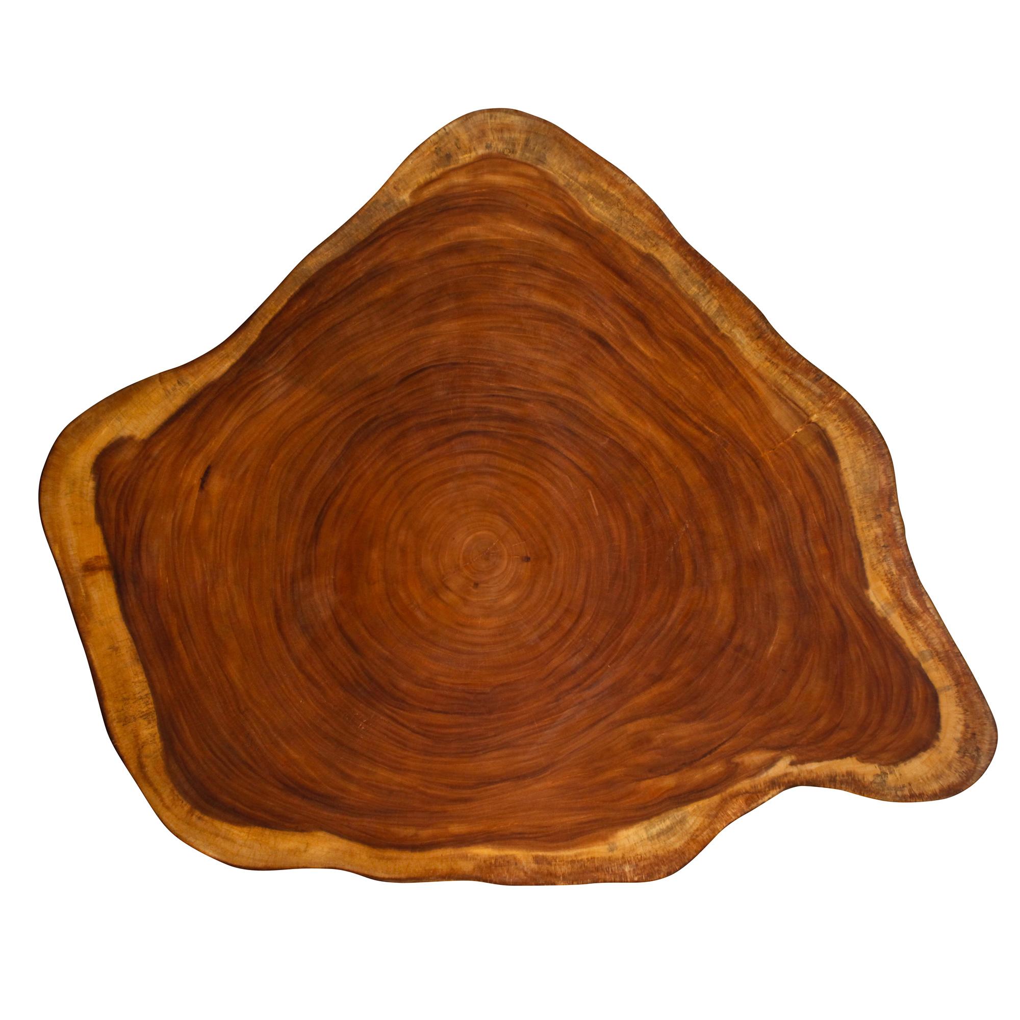 Saman Natural Wood Art - R4