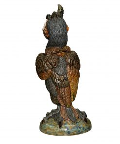 Cuthbert the Cormorant - Andrew Hull Pottery