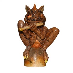 Flute Player - Andrew Hull Pottery