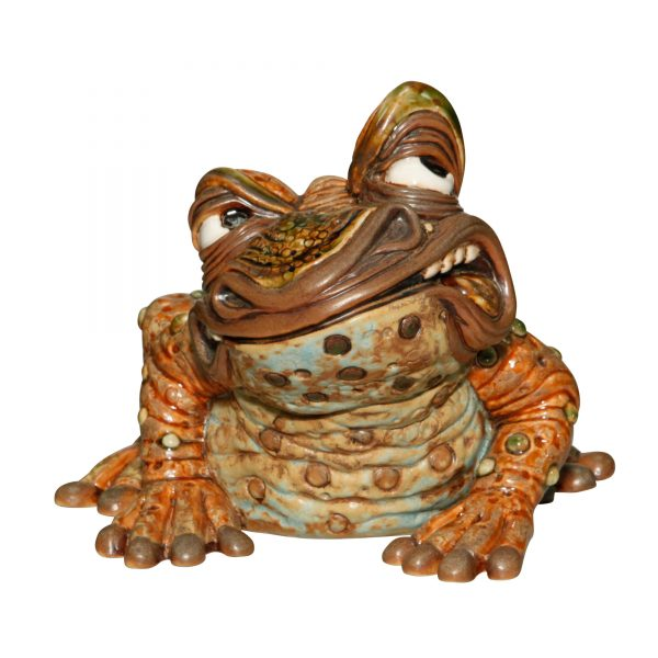 Frederick Frog - Andrew Hull Pottery