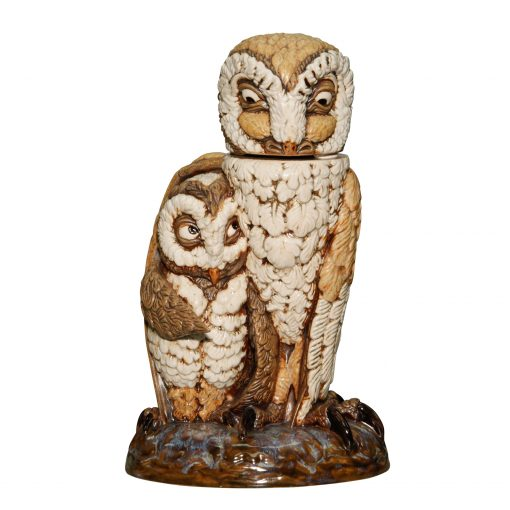 Owl Watch Snowy Colorway - Andrew Hull Pottery