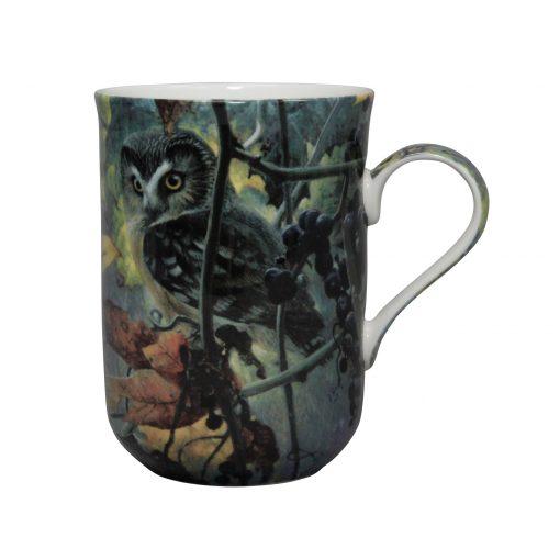 Bateman Birds Set of 4 Mugs