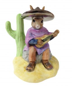 Mexican Platinum DB316 - Royal Doulton Bunnykins