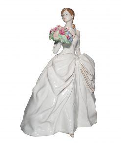 Jubilee Rose CW587 - Coalport Figurine