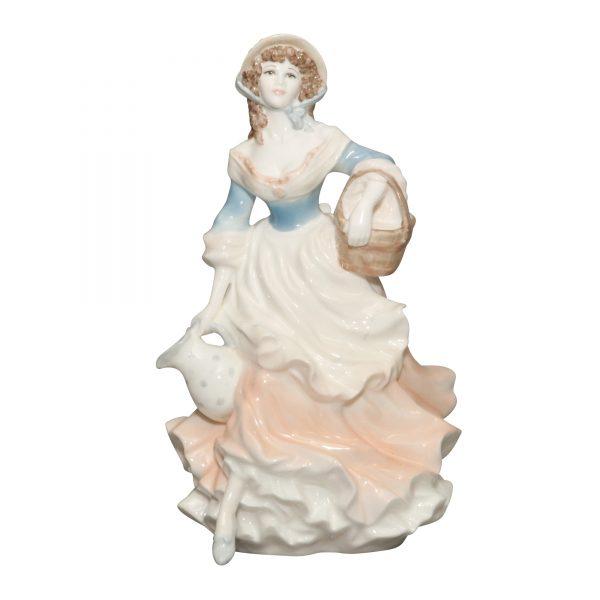 Milkmaid - Coalport Figurine