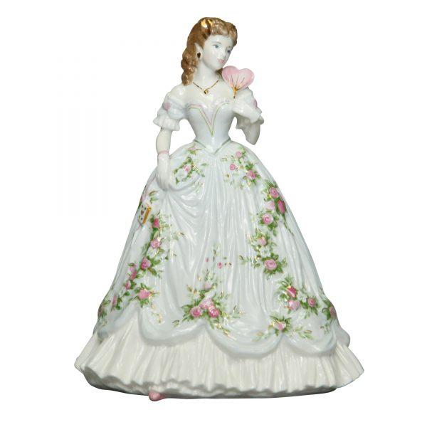 Queen of Hearts - Coalport Figurine