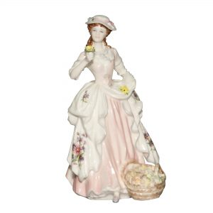 The Flower Seller - Coalport Figurine