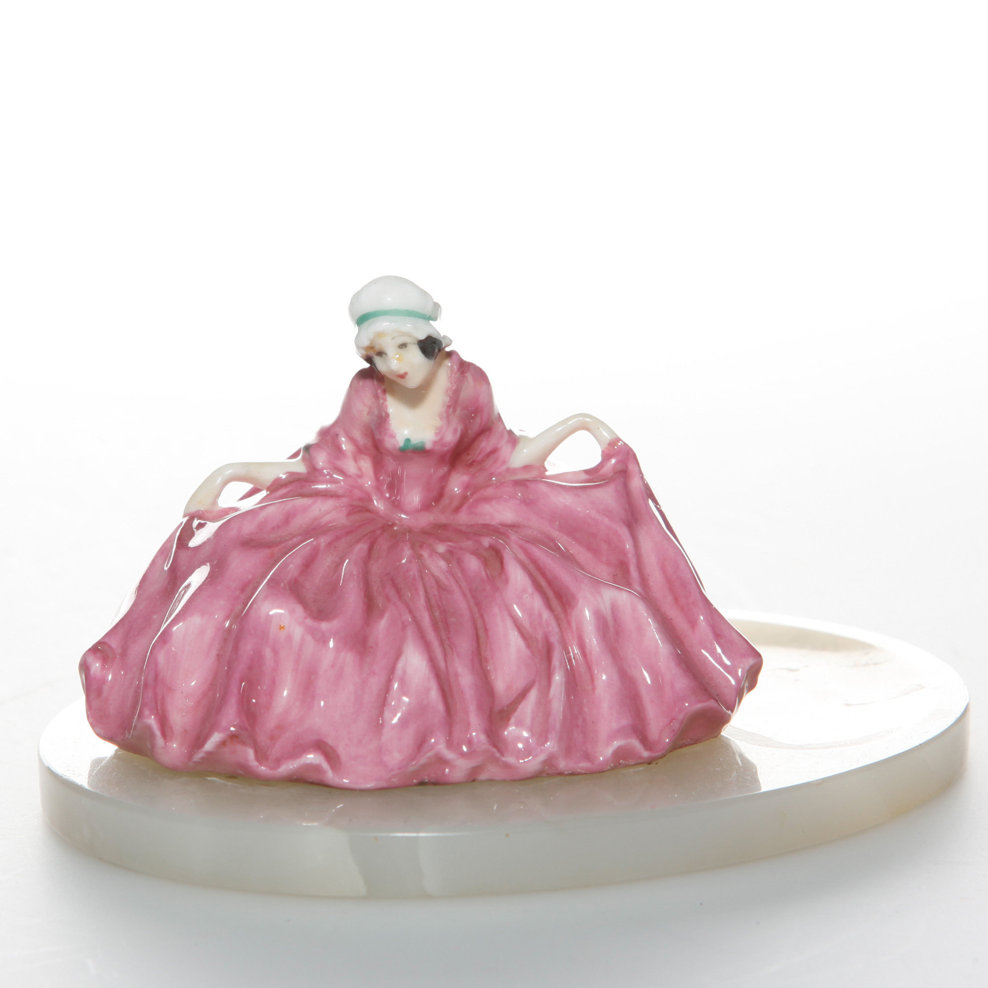 Polly Peachum on Base M021 - Royal Doulton Figurine
