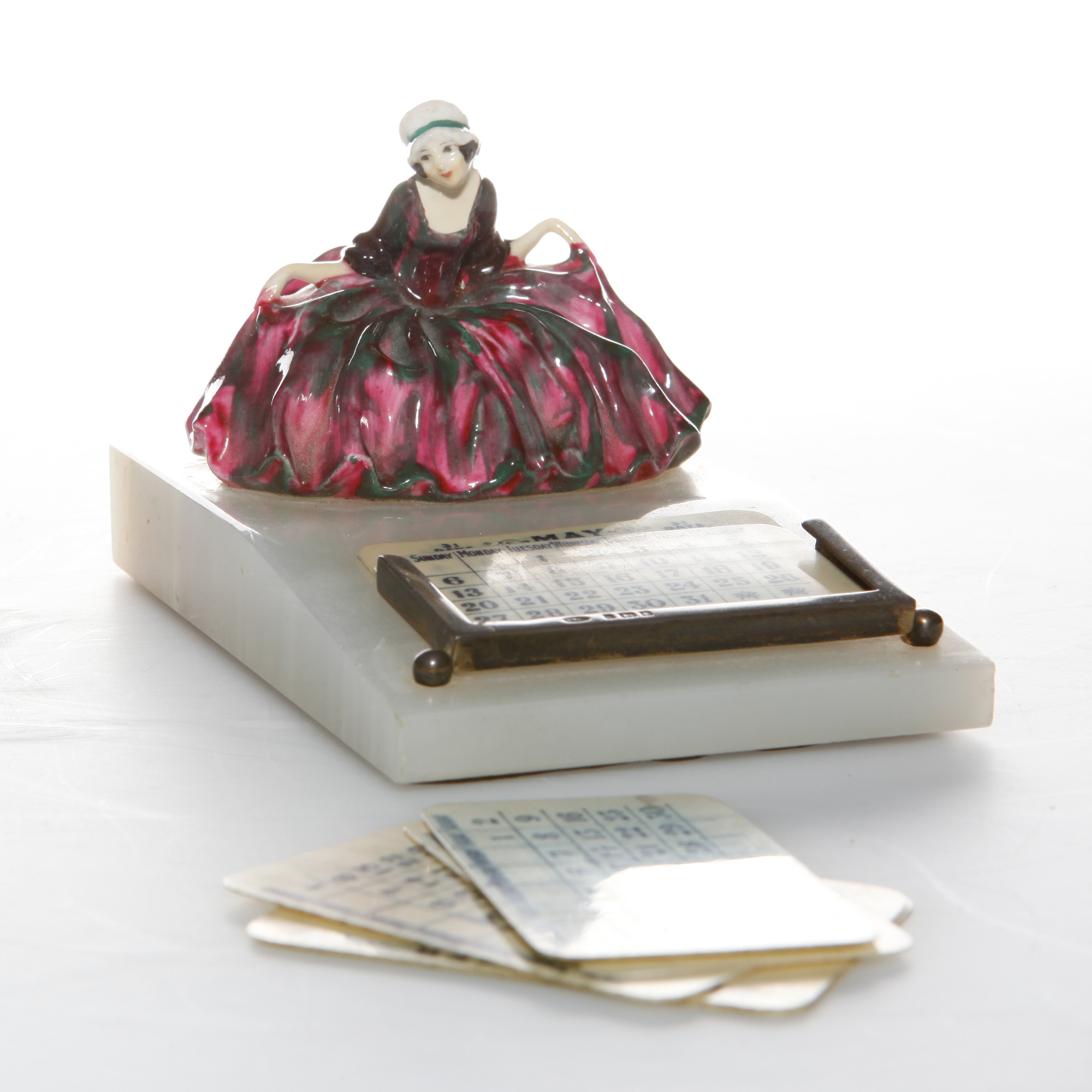 Polly Peachum - Calendar - Royal Doulton Figurine