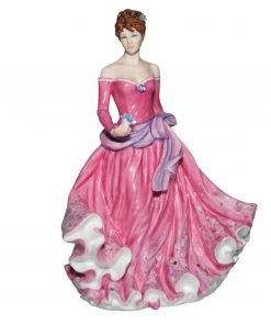Forget Me Not CW927 - Royal Worcester Figurine