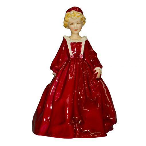 Grandmothers Dress Red RW3081 - Royal Worcester Figurine