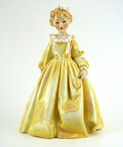Grandmother's Dress (yellow) RW3081 - Royal Worcester Figurine