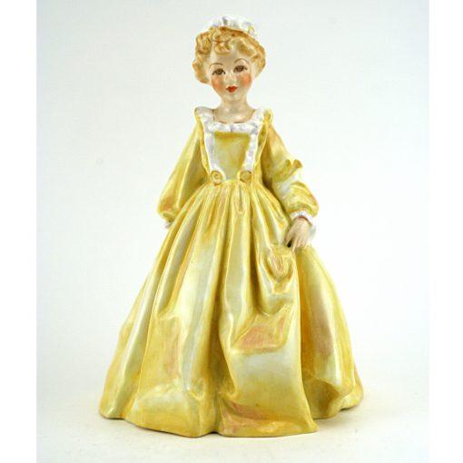 Grandmother's Dress (yellow) RW3081 - Royal Worcester Figurine