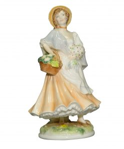 Market Day RW4549 - Royal Worcester Figurine