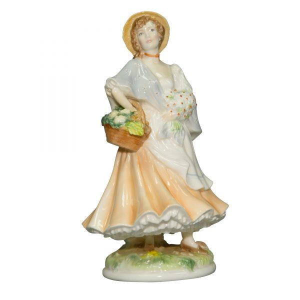 Market Day RW4549 - Royal Worcester Figurine