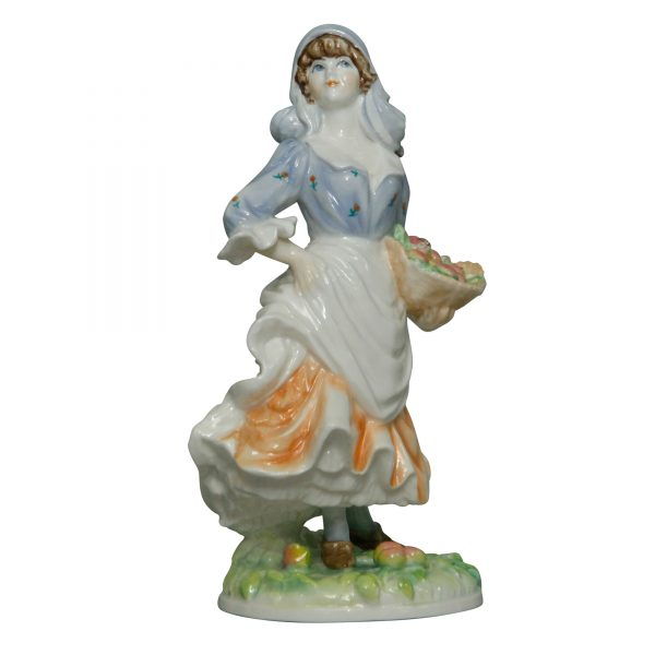 Rosie Picking Apples RW4322 - Royal Worcester Figurine
