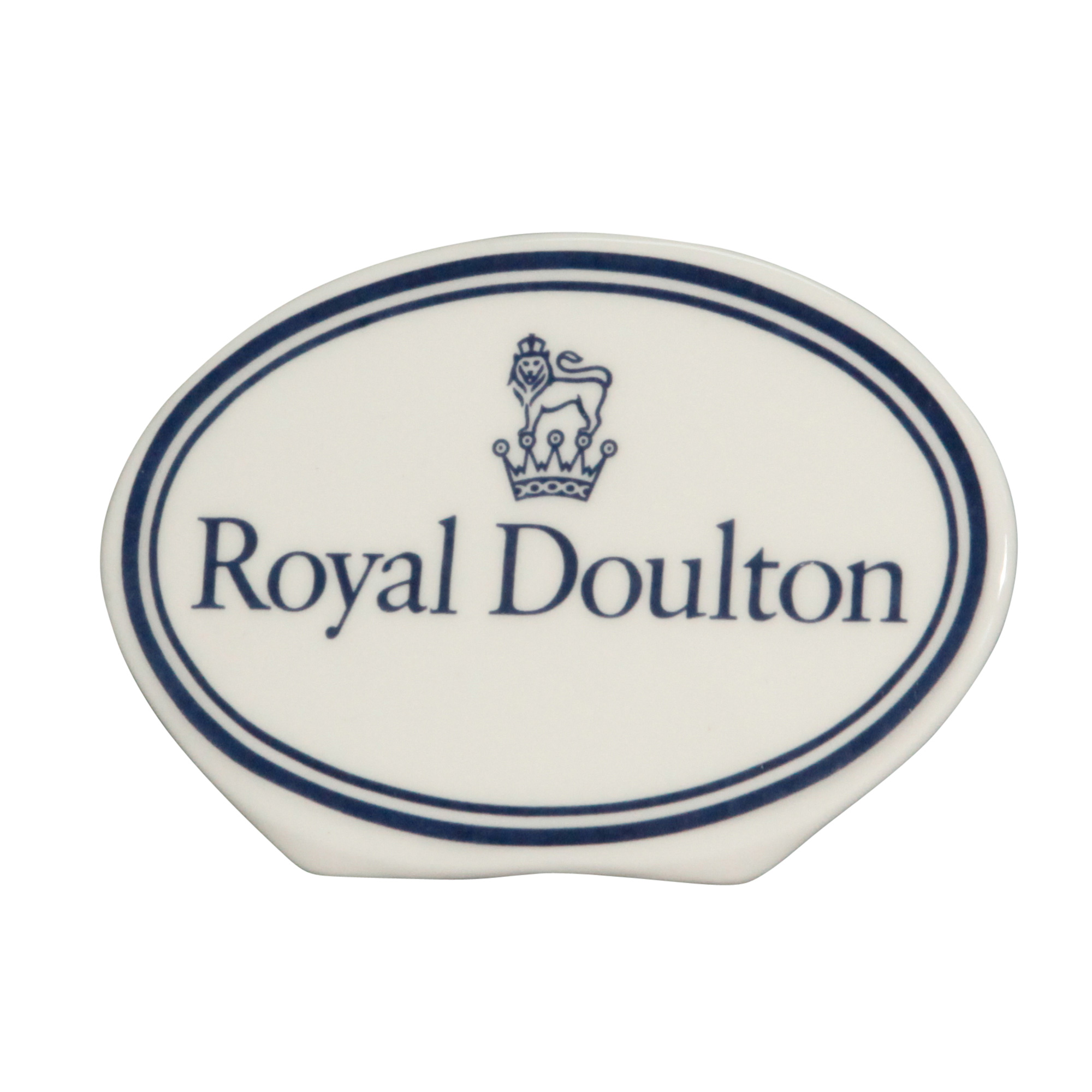 Display Sign Oval Royal Doulto