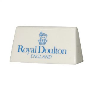 Doulton Sign Tabletop Blue