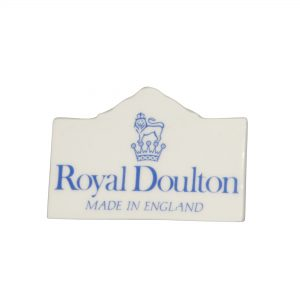 Doulton Sign Tabletop Blue RT