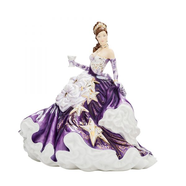 Congratulations (Amethyst) - English Ladies Company Figurine