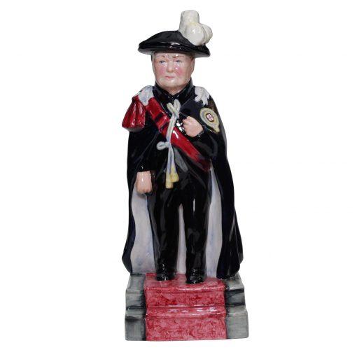 Bairstow Manor Winston Churchill Knight of the Garter Figure