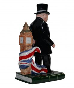 Bairstow Manor Winston Churchill Life and Times Character Jug