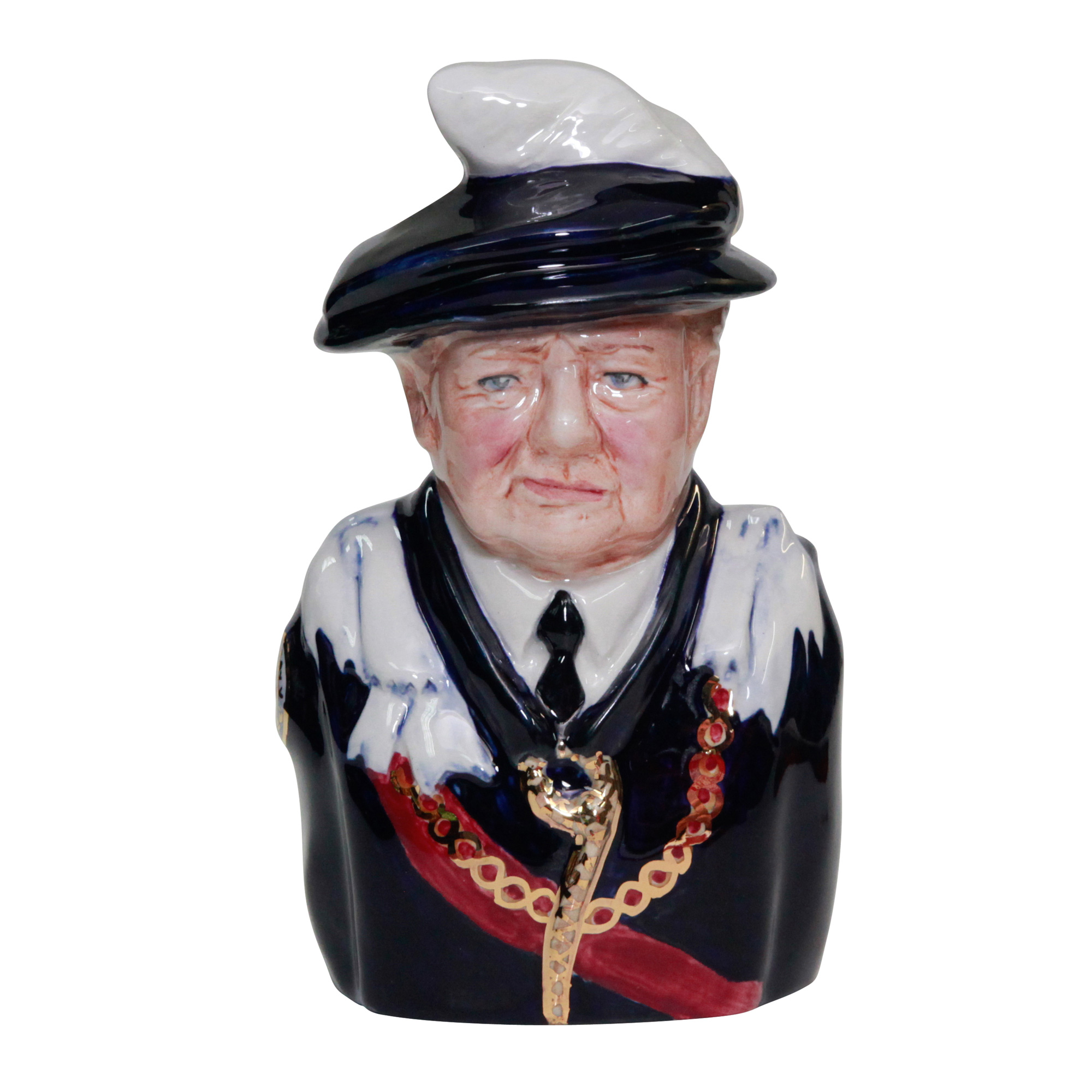 Bairstow Manor Winston Churchill Order of Garter Jug