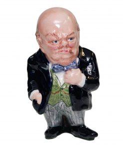 Bairstow Manor Winston Churchill Figure