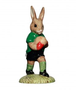 Footballer; green & white DB117 - Royal Doulton Bunnykins