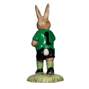 Footballer; green & white DB117 - Royal Doulton Bunnykins