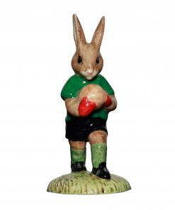 Goalkeeper; green & black DB116 - Royal Doulton Bunnykins