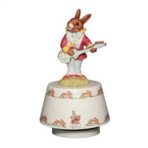 Mr. Bunnybeat Strumming DB038 - Royal Doulton Bunnykins