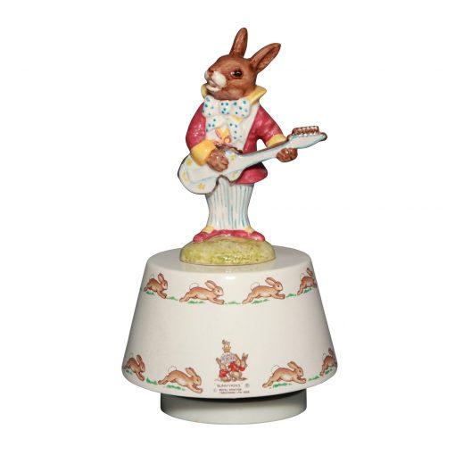 Mr. Bunnybeat Strumming DB038 - Royal Doulton Bunnykins