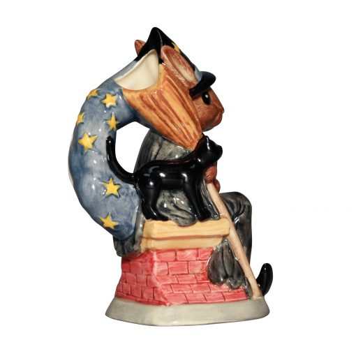 Witching Time Toby Jug D7166 - Royal Doulton Bunnykins
