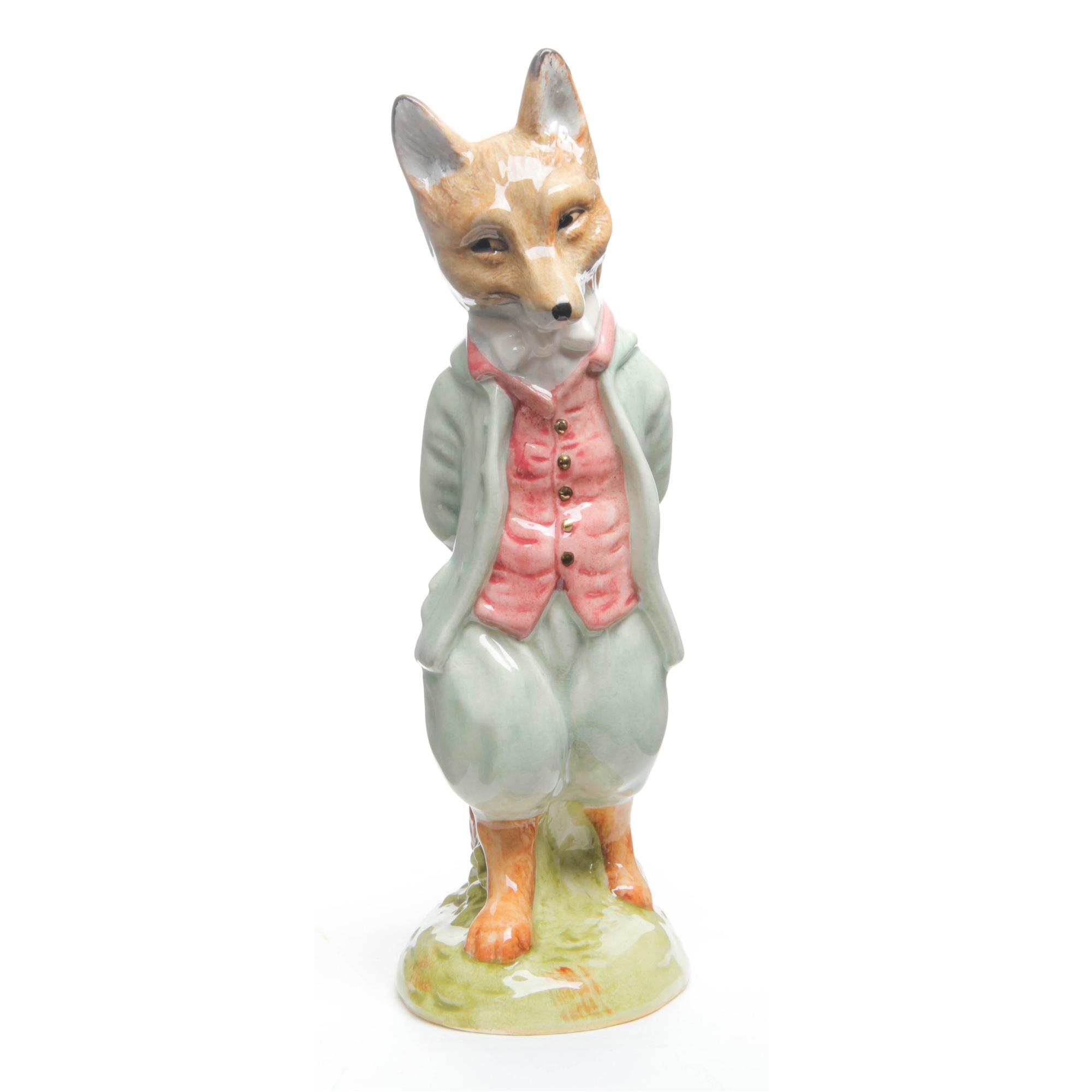 Foxy Whiskered Gentleman Large - Beatrix Potter Figure