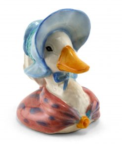 Jemima Puddleduck Jug RA - Beatrix Potter Figure